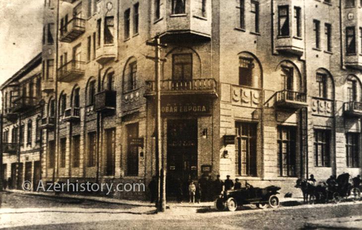 Открытки: дореволюционный Баку и советский Азербайджан (ФОТО)