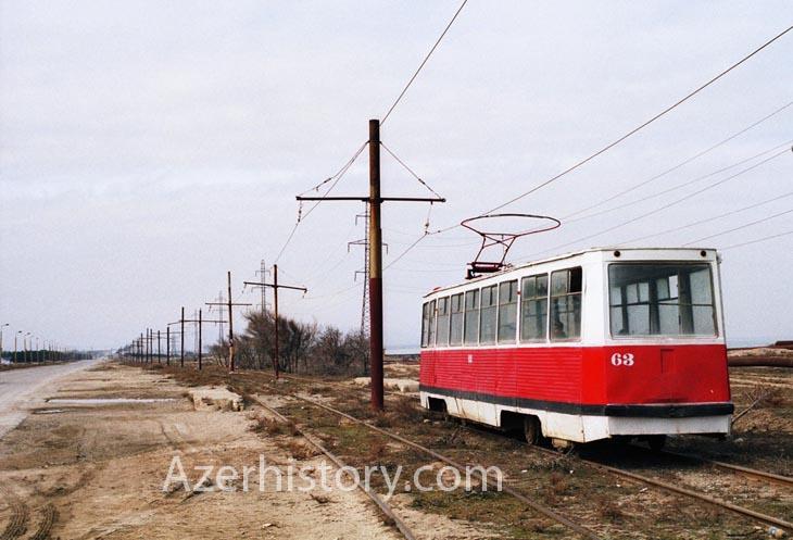 Трамваи и троллейбусы Сумгаита в 1999 г. (ВИДЕО)