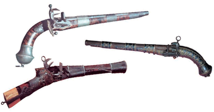 История производства огнестрельного оружия в Азербайджане