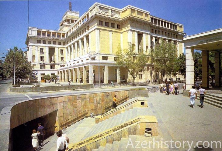 Альбом «Баку» 1986 г.: архитектурное разнообразие (ФОТО)