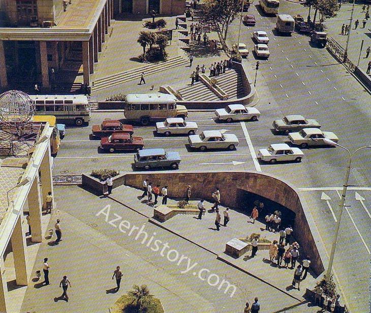 Альбом «Баку» 1986 г.: городские виды (ФОТО)