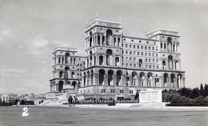 Баку начала 1960-х на мини-открытках из подарочных наборов (ФОТО)