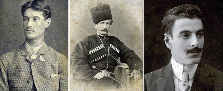Мужские портреты дореволюционных бакинских фотографов (ФОТО)