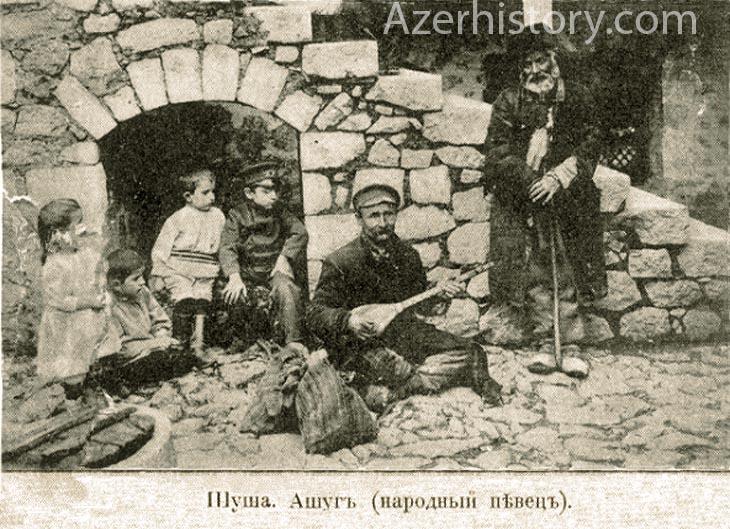 Природа и жители Шуши на старинных открытках (ФОТО)