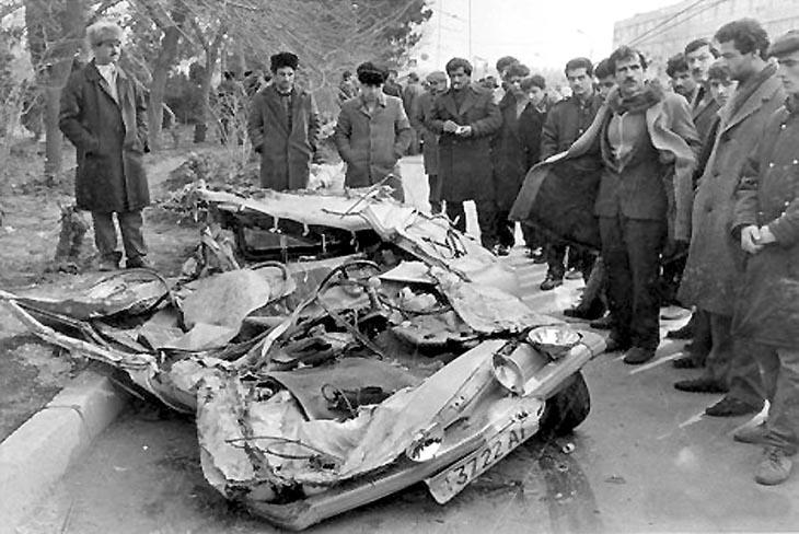 """Баку, 1990: Последствия """"Черного января"""" в фотографиях"""