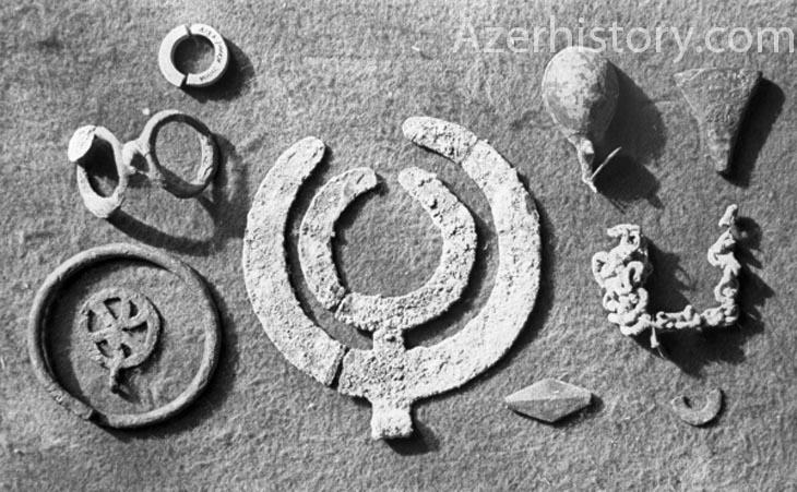 Уникальные археологические находки близ Мингячевира (ФОТО)