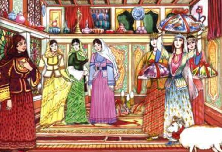 О проблемах семьи и брака в античном обществе Азербайджана