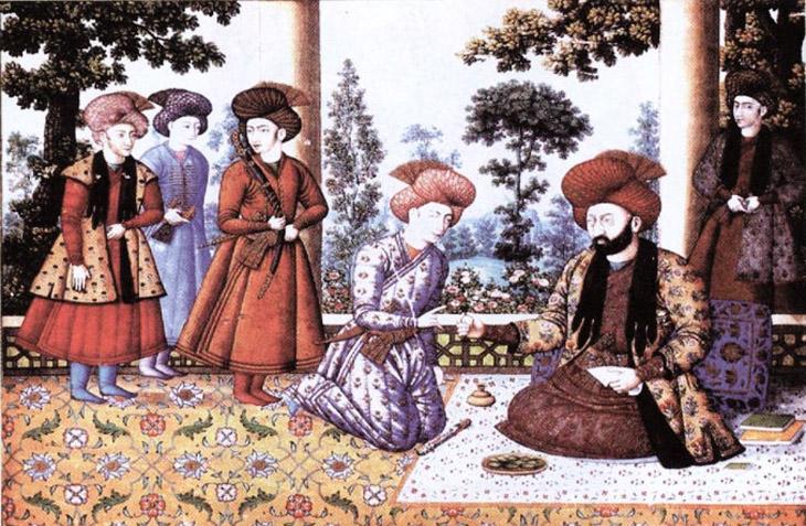Шелк Азербайджана в торговых отношениях Сефевидов с Европой в XVII в.