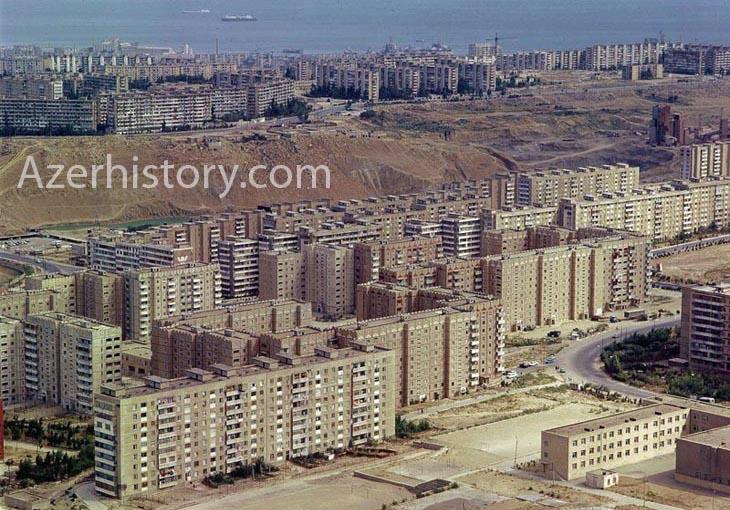 «Спальные» районы Баку: конец 1970-х – начало 1980-х (ФОТО)