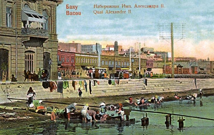 Как стирали белье в Баку на рубеже XIX и ХХ веков (ФОТО)