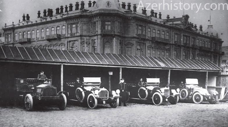 Как это было: Первые автомобили в Баку и первые водители-азербайджанцы