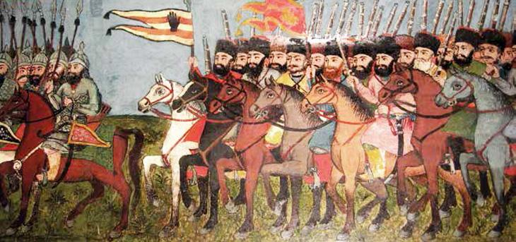 XIX век: О наборе маафов в российскую армию в Карабахе