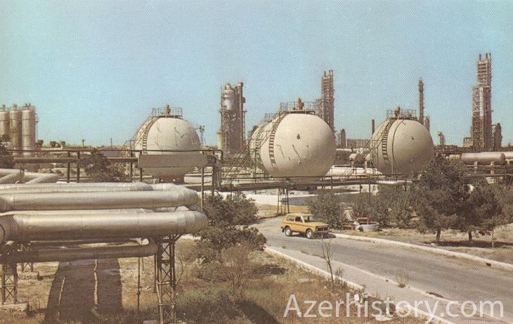 Промышленный Азербайджан на открытках 1982 г. (ФОТО)