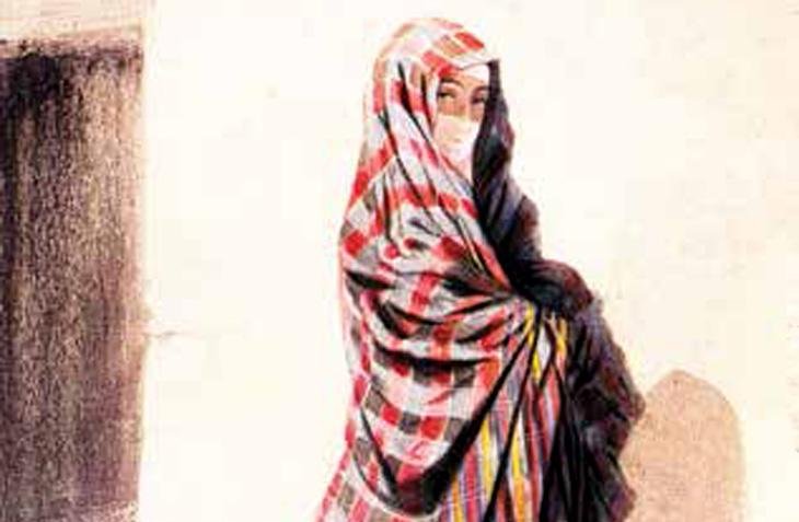 История женских головных уборов в Азербайджане