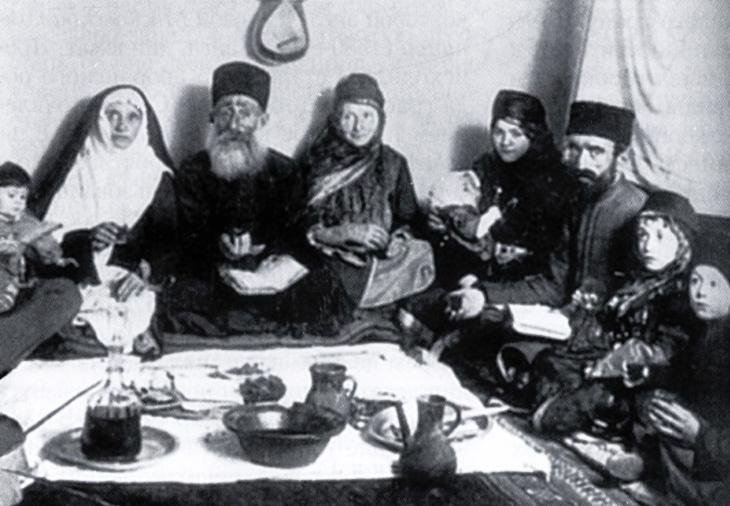 История появления евреев в азербайджанских ханствах и регионах