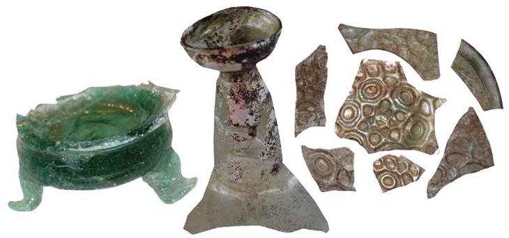 Стекло в средневековом Азербайджане