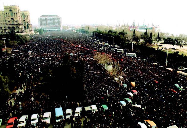 Причины и последствия событий 20 Января 1990 года в Баку