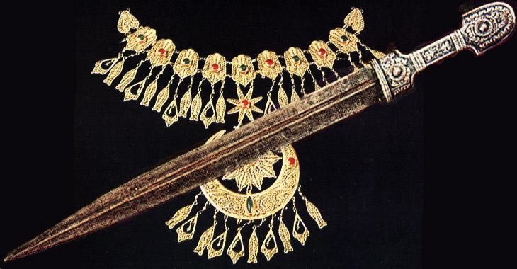 Женская одежда и украшения Азербайджана 19 века (ФОТО)