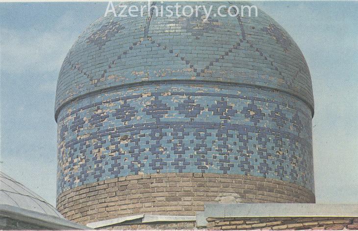 Древние памятники Нахчывана и Гянджи на открытках 1986 г. (ФОТО)