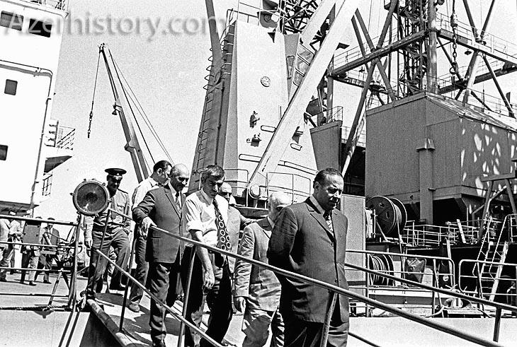 Как строился Завод глубоководных оснований на Абшероне (ФОТО)