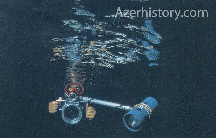 Побережье Абшерона: подводные пещеры и бронзовый меч 7-8 в. до н.э. (ФОТО)