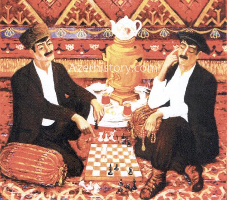 Жители старого Азербайджана глазами художника Аскера Аскерова (ФОТО)