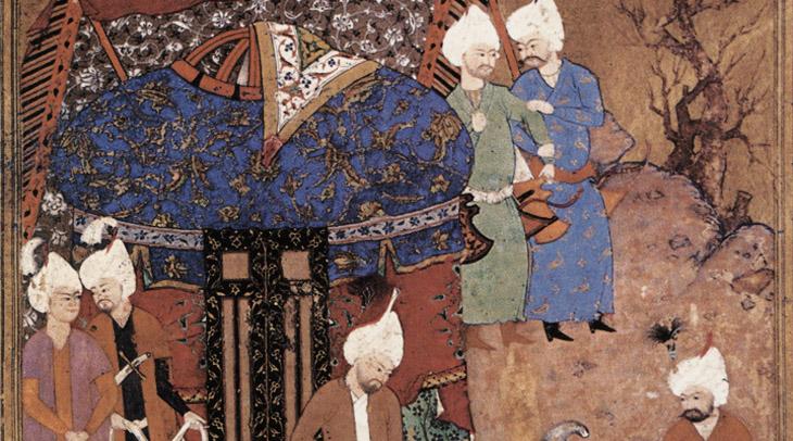 Миниатюры Азербайджана 1524-1600 годов (ФОТО)