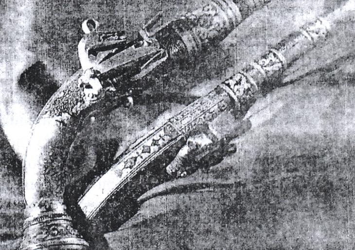 """""""Даян долдурум"""" или ружья и пистолеты XVIII-XIX вв. в Азербайджане"""