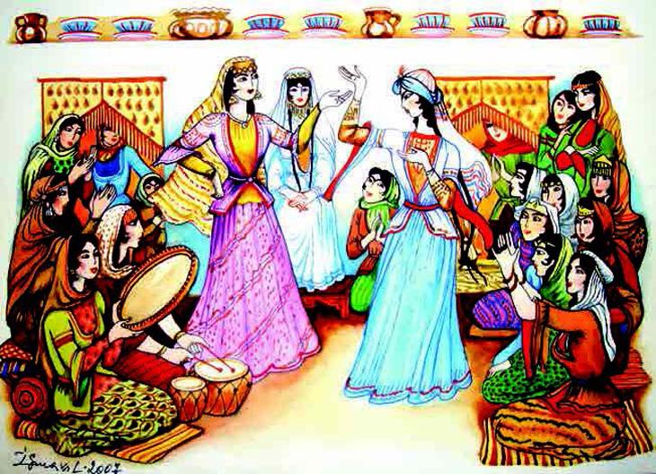 История азербайджанского населения гёйчинского магала
