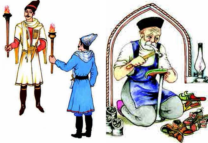 История традиционной выделки папах и шуб в Карабахе