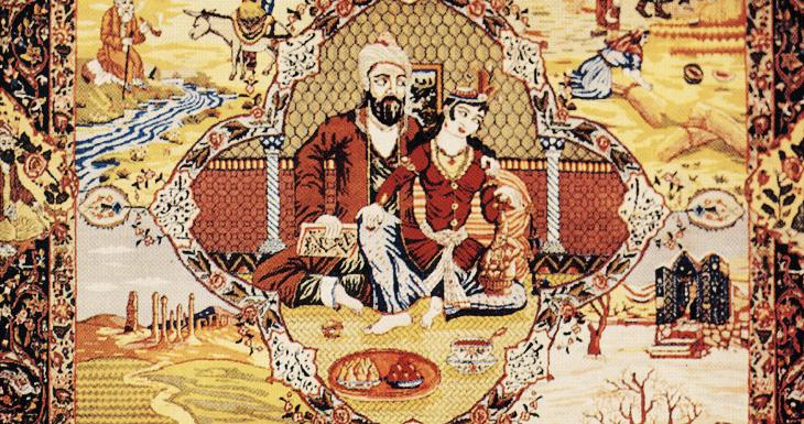 Шедевры Азербайджанских мастеров: ковры Тебризской школы (ФОТО)