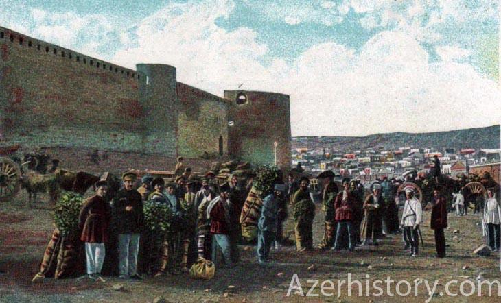 Николаевский базар: история самого старого базара Баку (ФОТО)