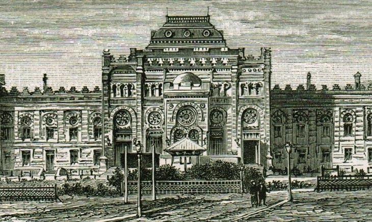 Гравюры и изображения Тифлисского вокзала в Баку, 1880-1900-е гг. (ФОТО)