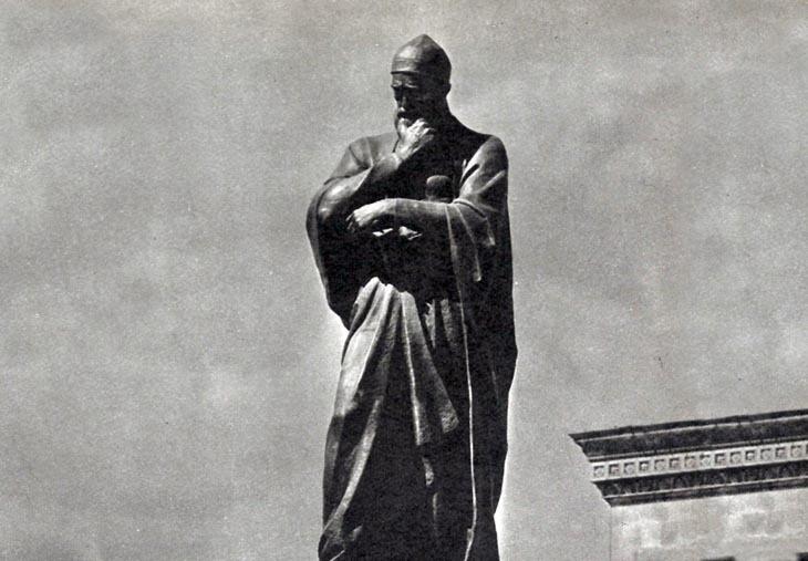 История создания памятника Физули в Баку