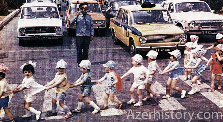 Детвора Сумгаита конца 1970-х годов (ФОТО)