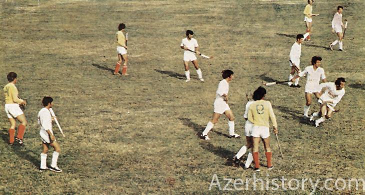 Спортивный Сумгаит конца 1970-х (ФОТО)