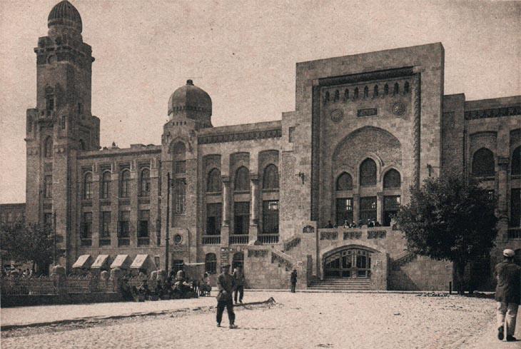 Начало советского периода: появление Сабунчинского вокзала в Баку (ФОТО)