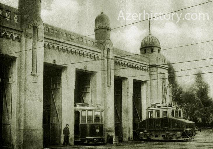 Вокзальные сооружения Сабунчинского вокзала времен СССР (ФОТО)