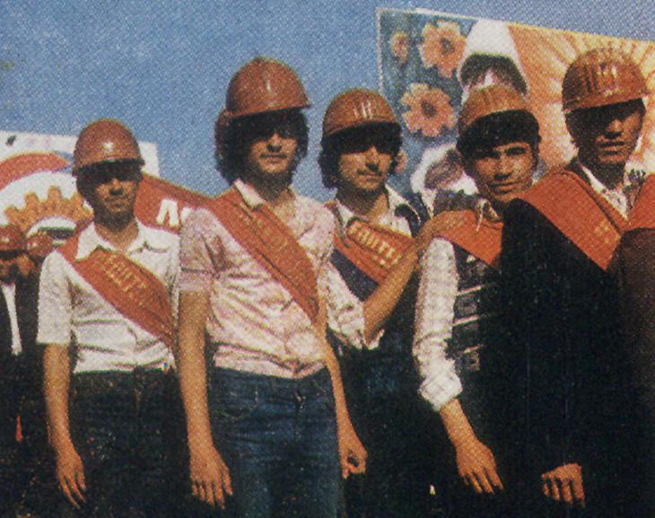 Жители Сумгаита в 1979 году (ФОТО)