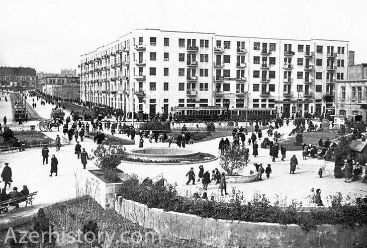 Кубинская площадь и Кубинский базар Баку в 1920х-1980х гг. (ФОТО)