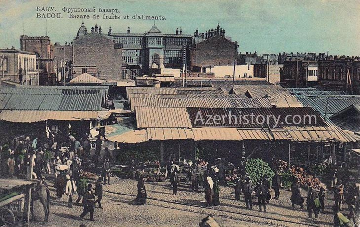 История Кубинской площади и Кубинского базара в Баку