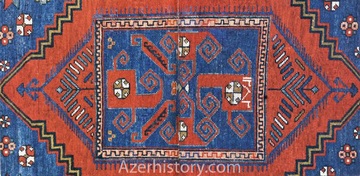 Ворсовые и безворсовые ковры Иреванской группы 1836-1876 гг. (ФОТО)