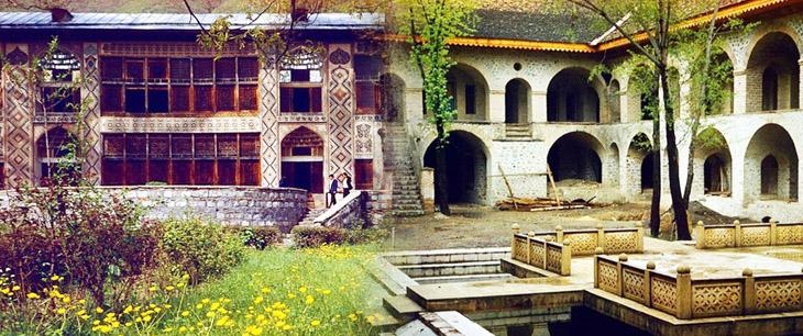 Шеки: Дворец ханов и местные караван-сараи в 1985 г. (ФОТО)