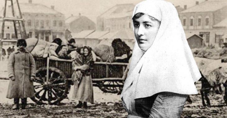 Азербайджанские женщины в период первой мировой войны