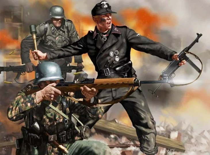 Война против СССР: Азербайджанские эмигранты в составе германского вермахта