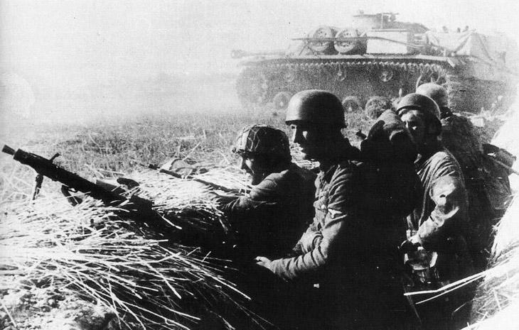 Формирование азербайджанских воинских частей в Германии в 1941 г.