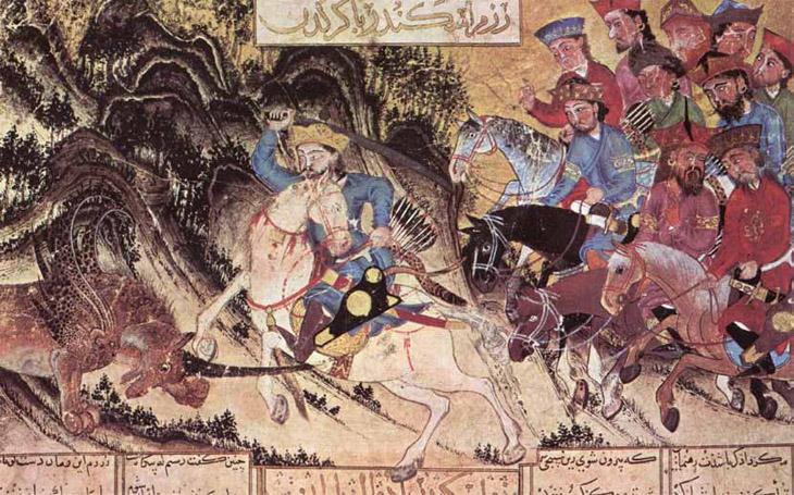 """Большое Тебризское """"Шах-наме"""" и тебризская живопись 1330-1340 гг."""