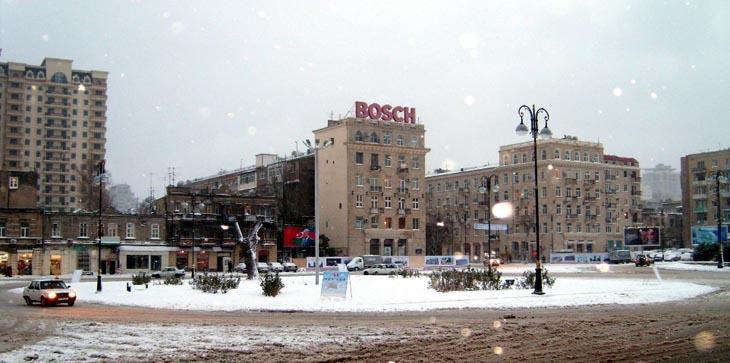 Площадь Физули в Баку и окрестности в 2000-2009 гг. (ФОТО)