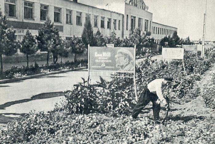Жители Кировабада (Гянджи) в начале 1970-х г. (ФОТО)