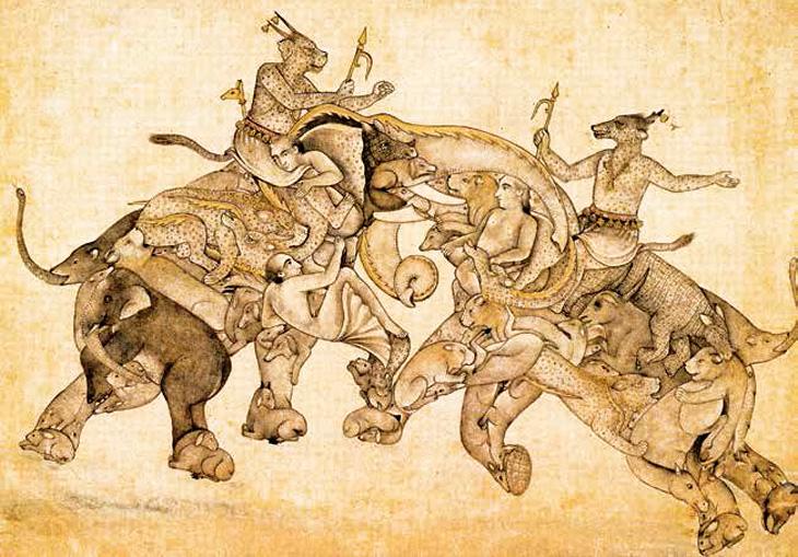 Сефевидские живописцы, творившие в Могольской Индии